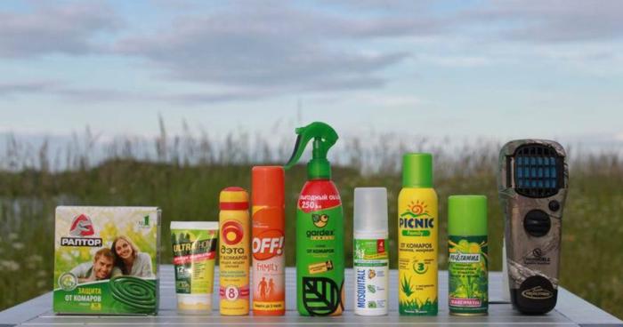 индивидуальные средства защиты от комаров