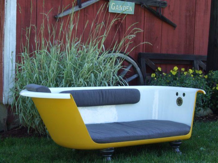 мебель из старой ванной