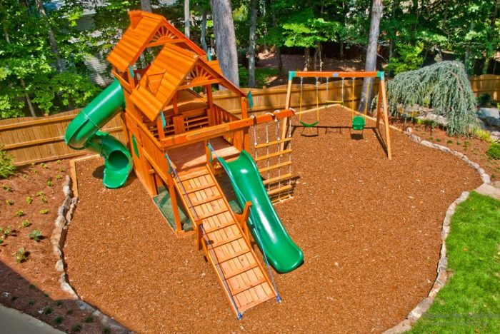 керамзит для детской площадки