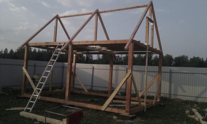 постройка дачного дома своими руками