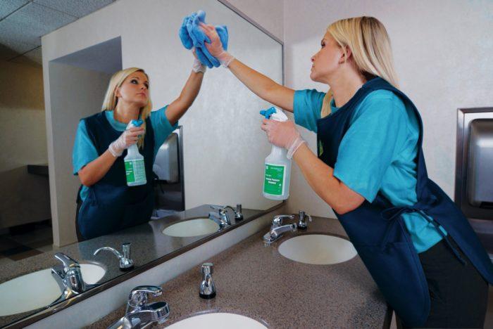 Правильная последовательность уборки в помещении