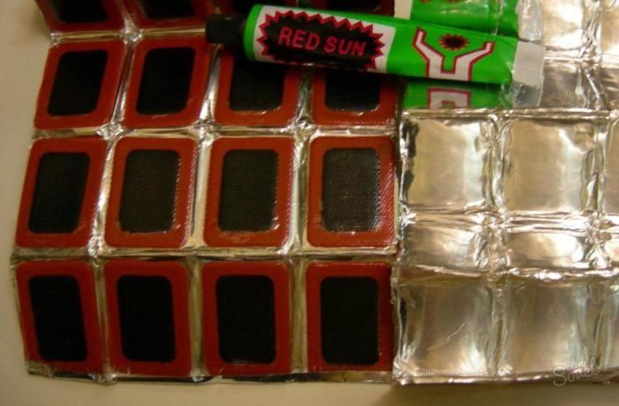 заплатки на надувной матрас