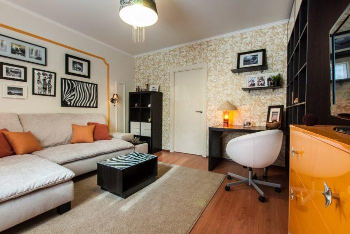 преображение квартиры без ремонта