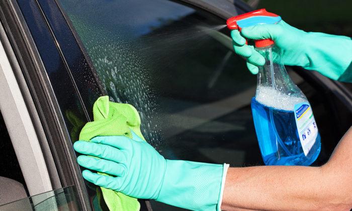 Мытье стекол авто
