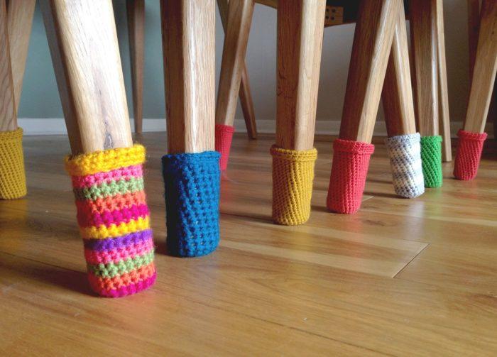 Носочки для стульев