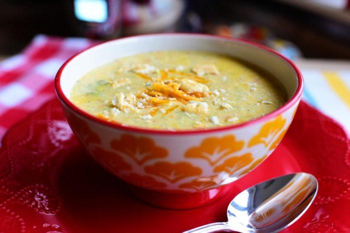 суп из твердых сортов сыра