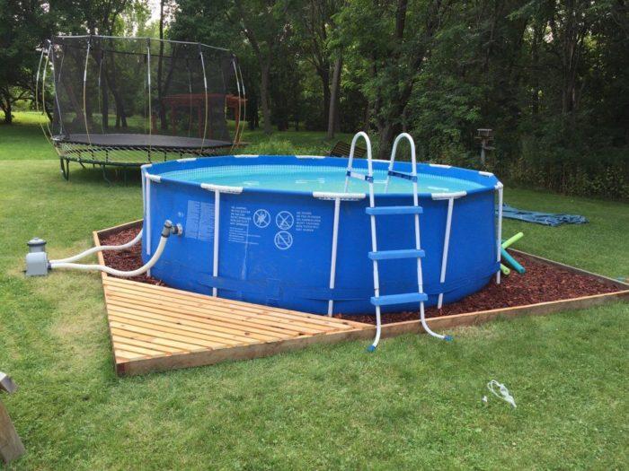 выбираем место для бассейна