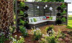 мебель в ландшафтном дизайне