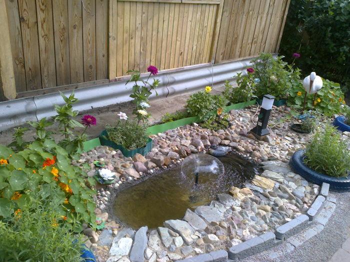 хранение воды на даче