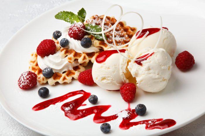 мороженное из ягод