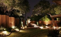 декоративное освещение дачного участка