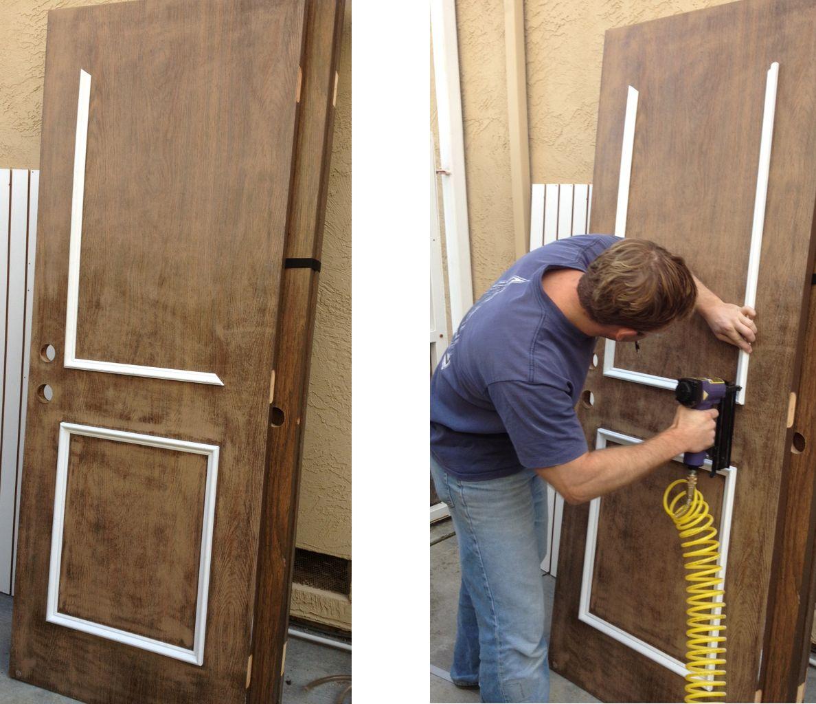 чем можно заменить межкомнатную дверь фото месте бровей