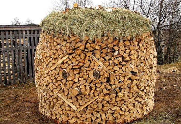 Куда сложить дрова