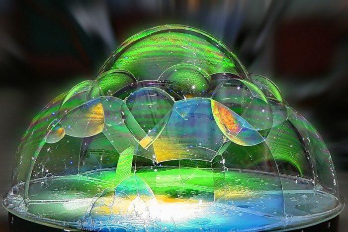 структурный мыльный пузырь