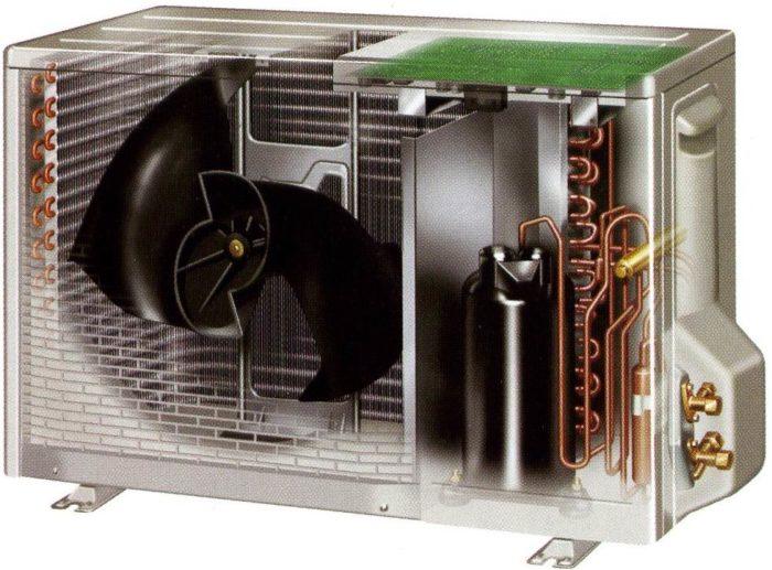 устройство наружного теплообменника