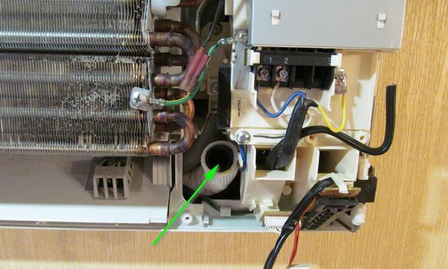 очистка дренажа кондиционера