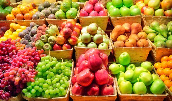 качество фруктов в супермаркете