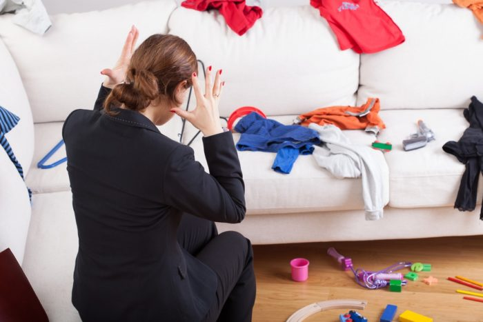 психологические проблемы связанные с беспорядком