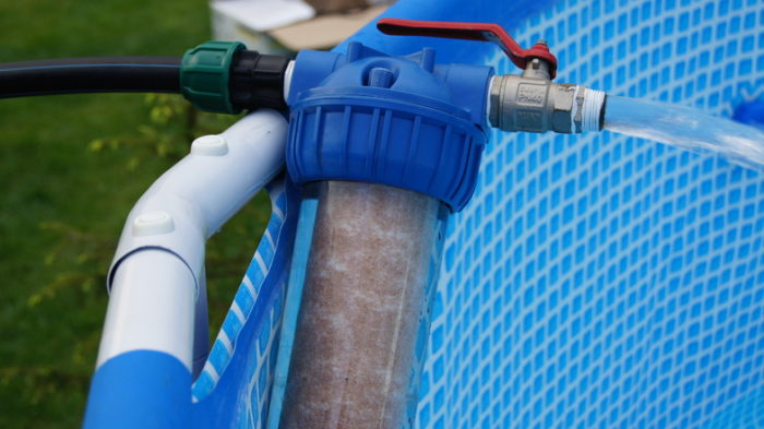 фильтр для воды в бассейне