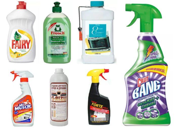 бытовая химия для чистки микроволновки