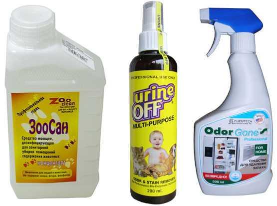 средства для удаления запаха кошачьей мочи