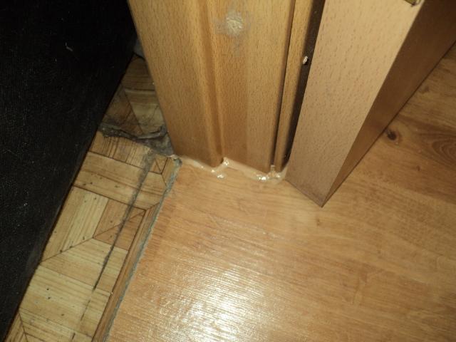 двери без порога на даче