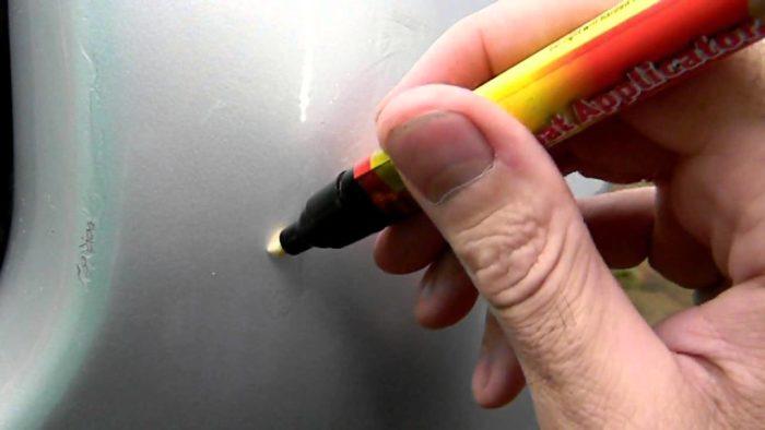 карандаш для акриловой ванной