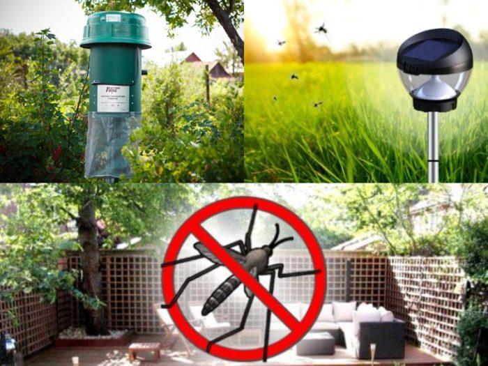 средства от комаров на дачном участке
