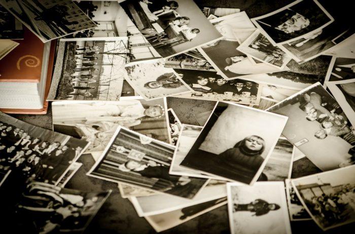 много старых фотографий