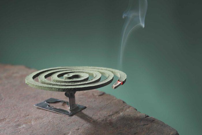 Спираль для отпугивания комаров