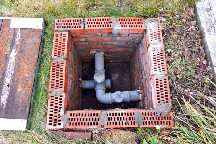 подключение душа к канализации
