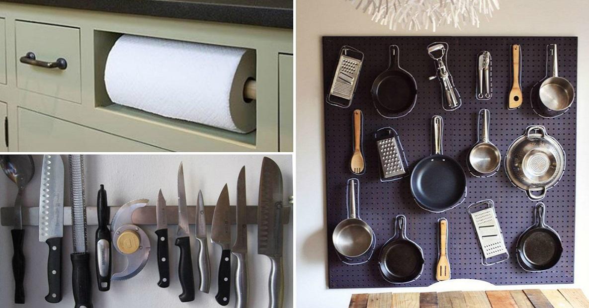 плоская лайфхаки для кухни фото прочные надежные цепи