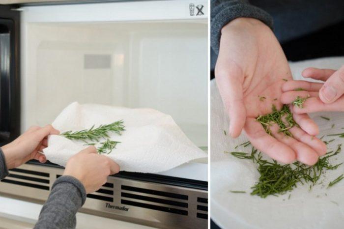нельзя греть зелень в микроволновке