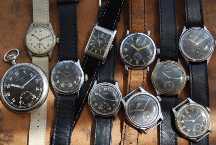 старые наручные часы