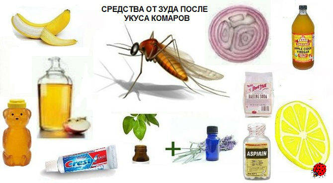 средства от комариного зуда