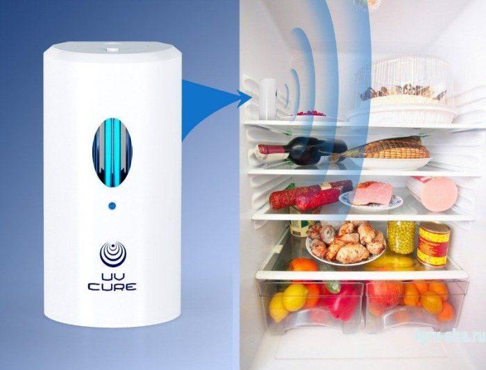 чистка холодильника ультрафиолетом