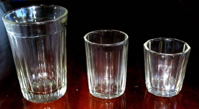 какие бывают стаканы