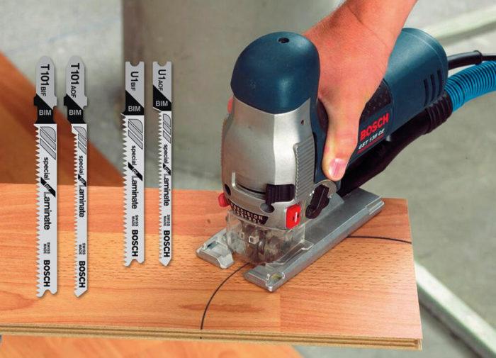 Как правильно резать ламинат