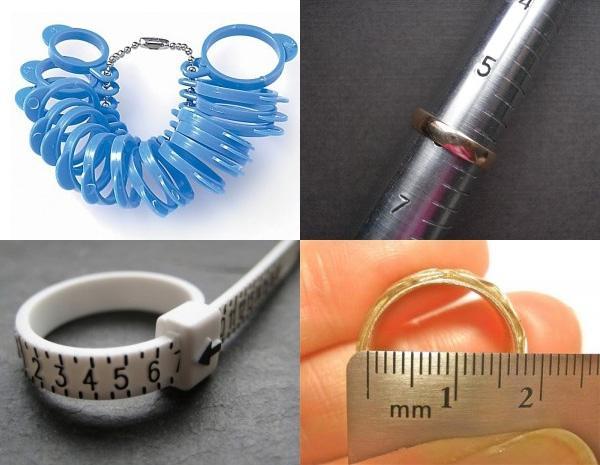 инструменты для замера кольца