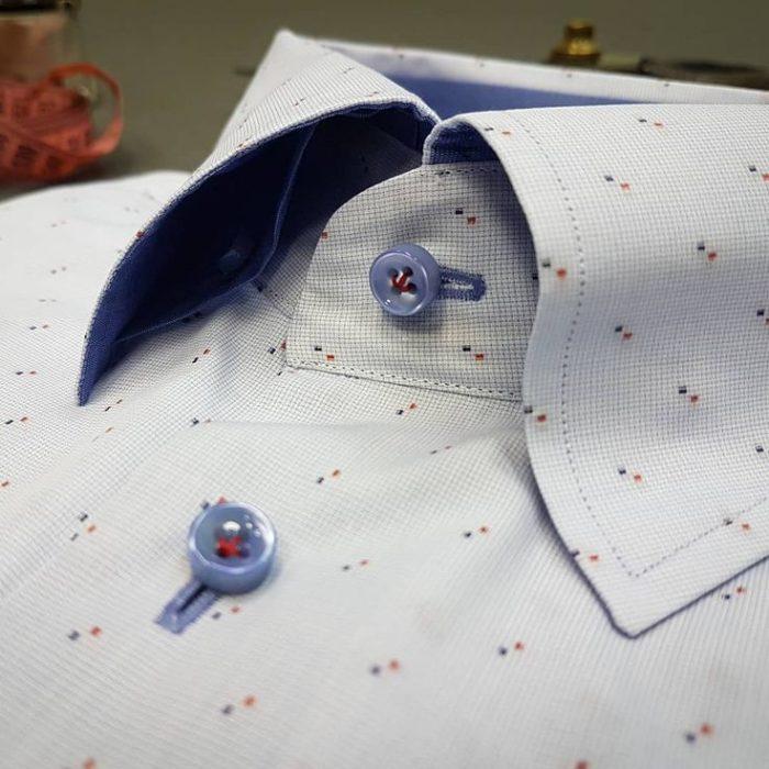 петельки на рубашке