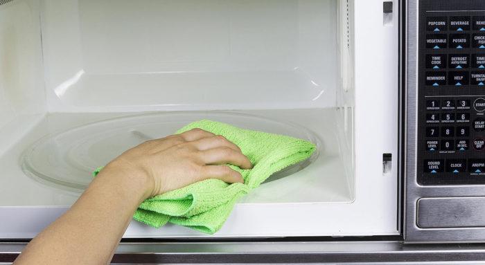 Чистая микроволновка