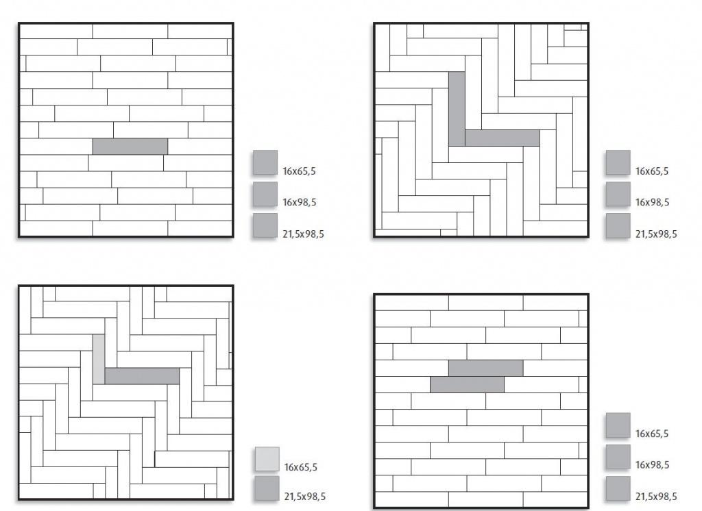 выбор схемы раскладки керамической плитки