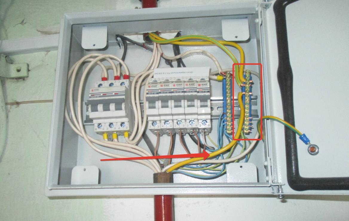 Как подключить заземление к электрической системе дома