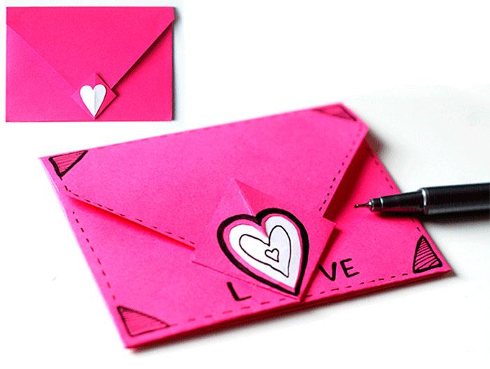 треугольный конверт
