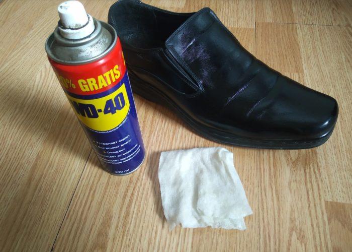 применение вд 40 для обуви