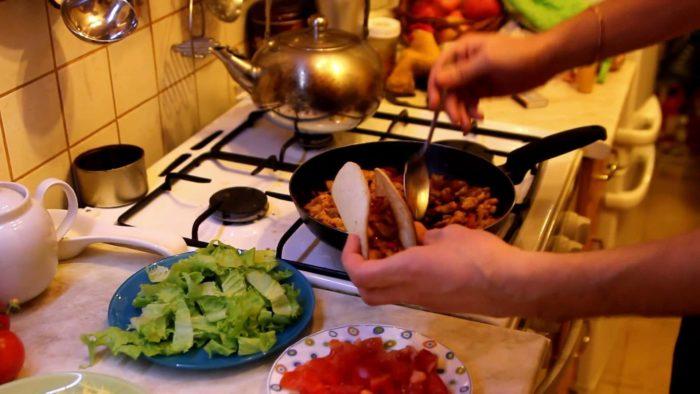 готовим еду самостоятельно