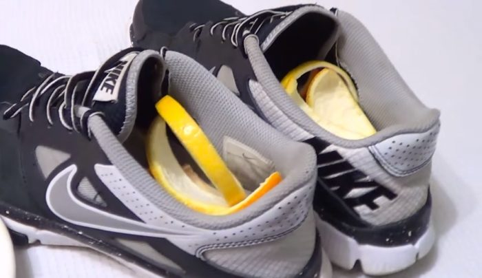 лимон от запаха обуви