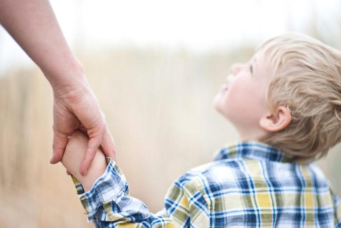 поддерживайте ребенка