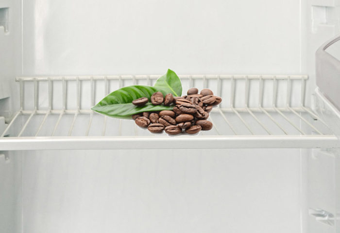 кофе от запаха в холодильнике