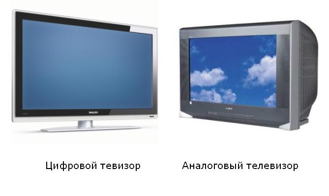 цифровое и аналоговое ТВ